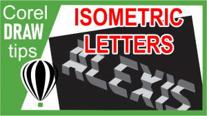 Creating Isometric Letters and Words