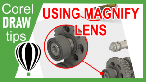 Using Magnify Lens for Illustrations/Images