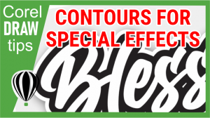 Learn to use contour for special effects