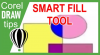 Smart Fill tool in CorelDraw