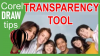 Transparency Tool in CorelDraw