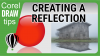 Creating a reflection in CorelDraw